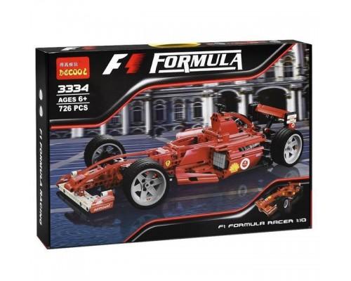 Конструктор Decool 3334 Гоночный автомобиль Феррари F1