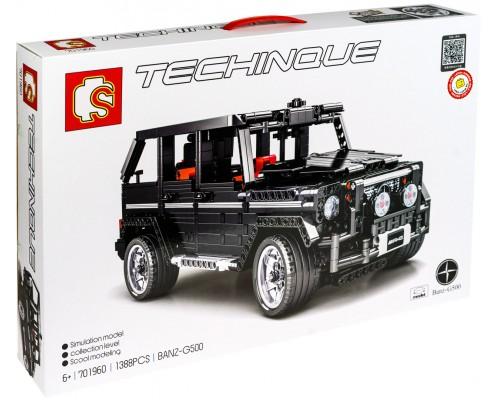 Конструктор Sembo 701960 Mercedes-benz Gelendewagen G500 RC