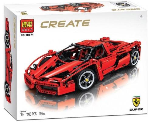 Конструктор Bela 10571 Create Enzo Ferrari