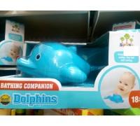 Игрушка водоплавающая для купания Дельфин SL 87038