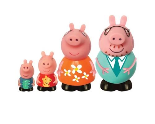 Набор игрушек-брызгунчиков Peppa Семья Пепы