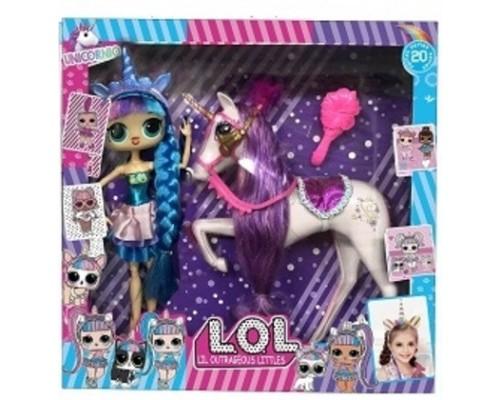 Набор кукла ЛОЛ LOL Surprise Единорог 11802В