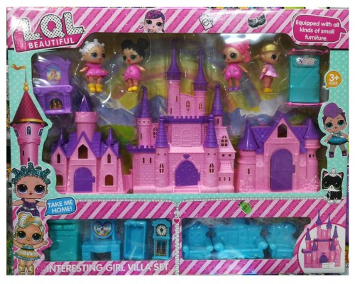 Замок дом для кукол ЛОЛ LOL 1892