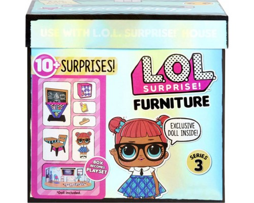 Игровой набор L.O.L. Surprise Furniture S2 Класс Умницы 570028