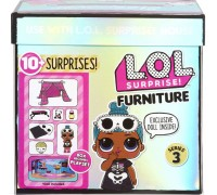 Игровой набор L.O.L. Surprise Furniture S2 Комната Леди-сплюшки 570035