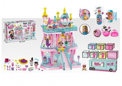 Замок дом для кукол ЛОЛ LOL K5627A
