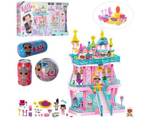 Замок дом для кукол ЛОЛ LOL K5626