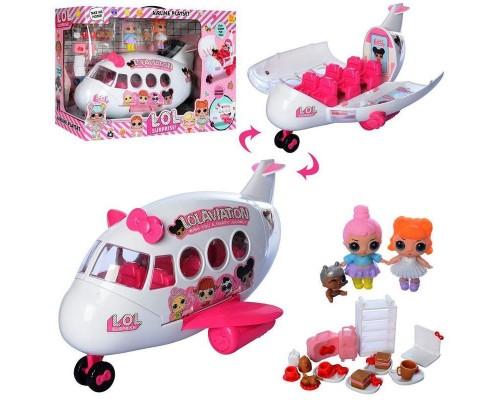 Игровой набор самолёт для кукол LOL ЛОЛ 5625