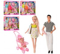 Набор кукол семья Defa 8088