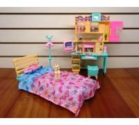 Мебель для куклы Спальня Gloria 21014