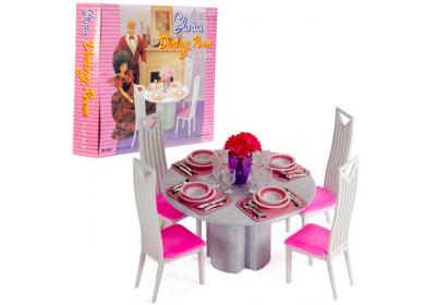 Мебель для куклы Столовая Gloria 94011