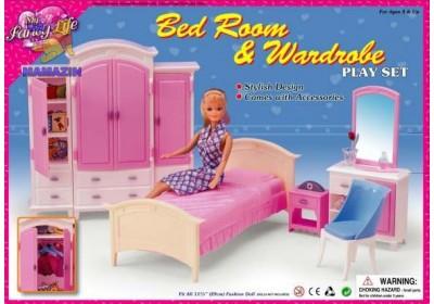 Мебель для куклы Спальня Gloria 24014
