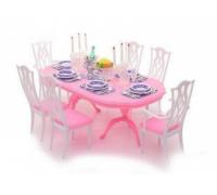 Мебель для куклы Столовая Gloria 9712