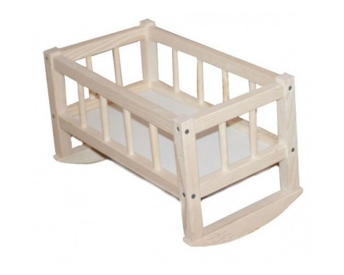 Кровать для кукол деревянная Смерека 172016