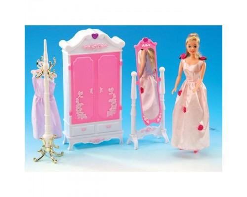 Мебель для куклы Гардероб Gloria 2609