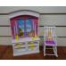 Мебель для куклы Детская комната Gloria 24022