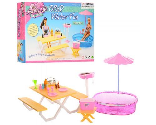 Мебель для куклы Бассейн Gloria 1679
