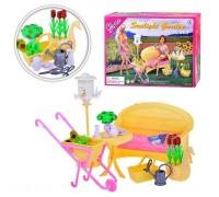 Мебель для куклы Садовая мебель Gloria 9926