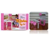 Мебель для куклы Кухня Gloria 94016