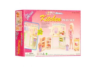 Мебель для куклы Кухня Gloria 21016
