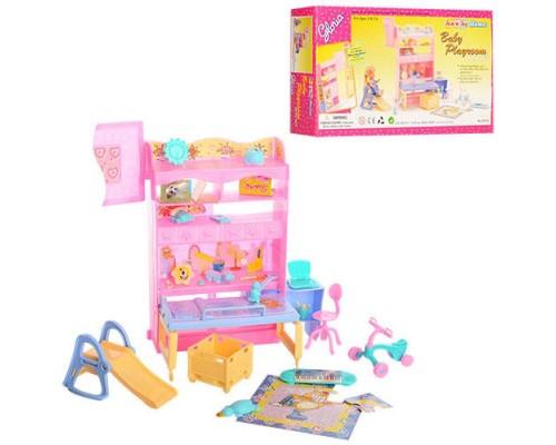 Мебель для куклы Детская комната Gloria 21019