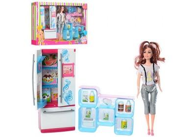 Набор кукла с мебелью кухня XJ600-64
