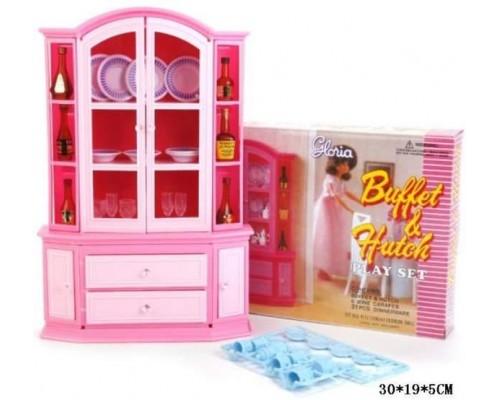 Мебель для куклы Буфет Gloria 9511
