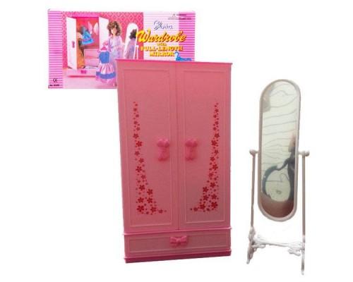 Мебель для куклы Гардеробная Gloria 9509