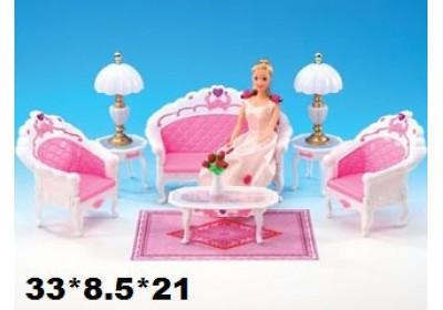 Мебель для куклы Гостиная Gloria 2604