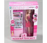 Набор кукла с мебелью кухня 818-18