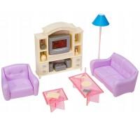Мебель для куклы Гостинная Gloria 24012