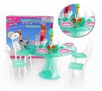 Мебель для куклы Столовая Gloria 2811