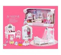 Набор мебели для зверюшек Happy Family 6616 Спальня