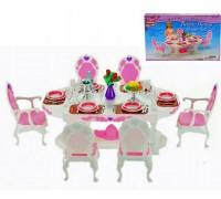 Мебель для куклы Столовая Gloria 2612