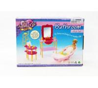 Мебель для куклы Ванная Gloria 2913