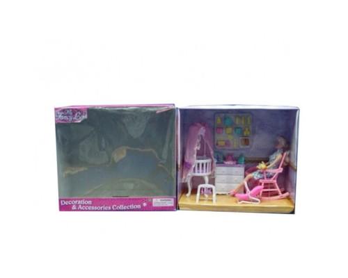 Мебель для куклы Детская Gloria 9929GB