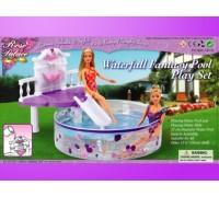 Мебель для куклы Отдых у бассейна Gloria 2678