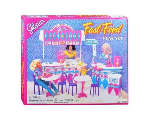 Мебель для куклы Gloria Фаст-фуд 96008