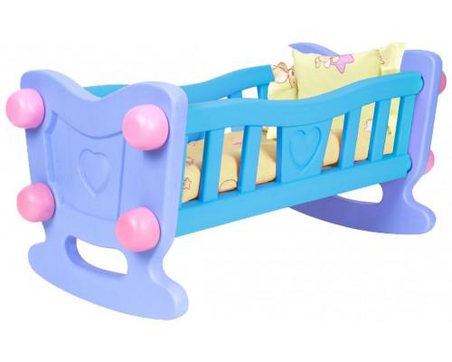 Кровать колыбель для кукол Технок 4197