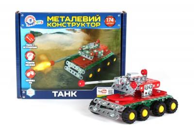 Металлический конструктор Технок Танк 4951