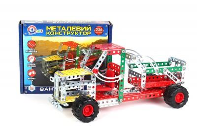 Металлический конструктор Технок Грузовик 4883