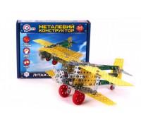 Металлический конструктор Технок Самолет-биплан 4791
