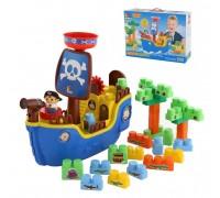 Конструктор Polesie Пиратский корабль 62246