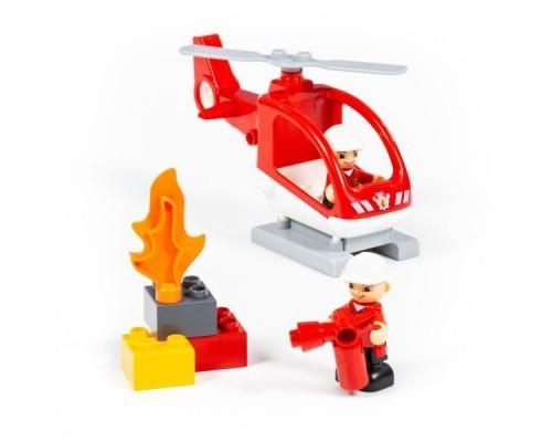 Конструктор Polesie Макси Пожарная станция 77516