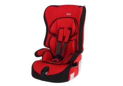 Детское автокресло SIGER Трансформер Прайм 9-36 кг группа 1-2-3 красный