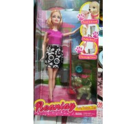 Кукла барби с собачкой Уход за питомцами CS699-12 2 цвета