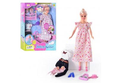 Кукла беременная Defa 8009