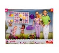 Набор кукол семья Defa 8301