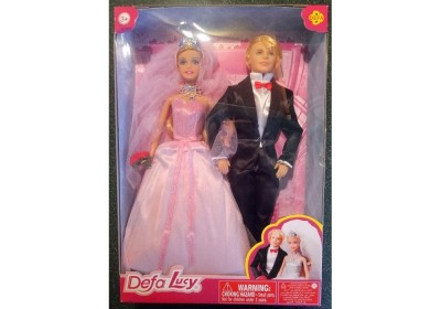 Набор кукол Defa 8305 жених и невеста