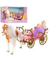Карета принцессы с лошадкой 209B